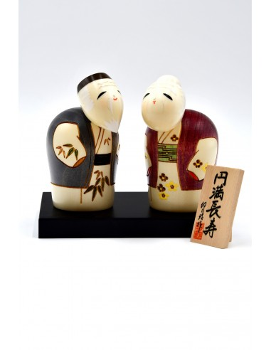 Kokeshi doll - The Best Couple...
