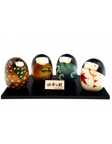 Kokeshi dolls - Poetry of the Four...