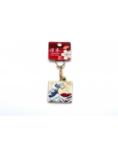 Keyring - The Great Wave